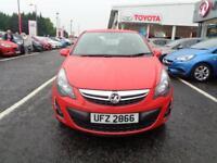 Vauxhall Corsa EXCITE ECOFLEX (red) 2014-08-16
