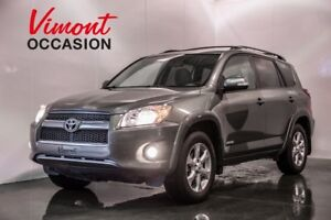 2009 Toyota RAV4 LIMITED 4WD CUIR TOIT OUVRANT MAGS HEATED SEATS