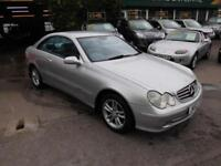Mercedes-Benz CLK320 3.2 auto Avantgarde 2002 FULL LEATHER EXCELLENT