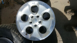 Factory Alloys from Jeep JKU
