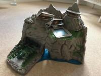 Thunderbird's Tracy Island, vehicles and characters.