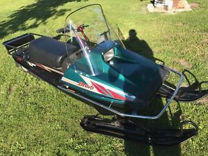 2008 Yamaha bravo 250 long track kid sled