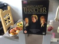 Margaret thatcher , The Iron Lady DVD collection