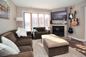 Open-concept 1250sqft 2-floor condo in lachine village st-louis