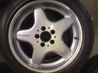 "Mercedes 17"" AMG clk 8.5x17 alloy wheel for sale only got one £85 call 07860431401"