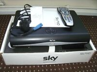 SKY BOX FULL HD 3D, FULLY WORKING, GOOD CONDITION, WITH GENUINE REMOTE & POWER CABLE ONLY.