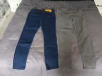 Womans jeans x 2