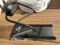 Carl lewis treadmill - great working order, few scratches etc byt solid mechanically