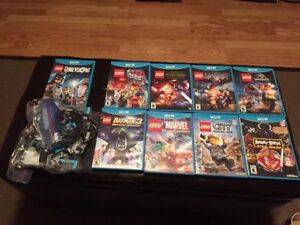 WiiU games and Wii games