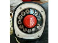 Awesome vintage 1950s desktop analogue telephone