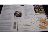Ascot Festival of Food and Wine Racing Weekend - King Edward VII Enclosure x 1 ticket