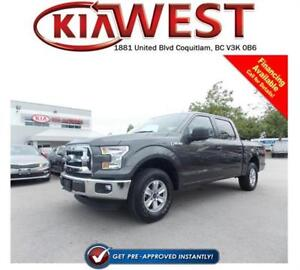 2015 Ford F150 XLT SuperCrew V6 4X4