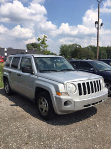 2010 Jeep Patriot SUV, Crossover AS-IS