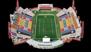 Calgary Stampeders vs Ticats July 29, Sec P, 2 tickets $35per