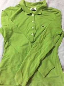 Authentic Lacoste Longsleeve polo