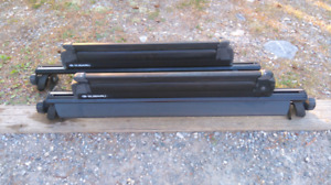 Subaru Forester Roof Racks with Ski Attachment