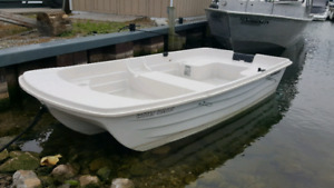 """Water Tender, small boat 9'.4""""."""