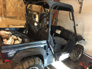 Parting Out - 2009 Yamaha Rhino 700 EFI Special Edition