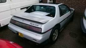 Pontiac fiero (American classic not dodge mustang corvette cadilac)