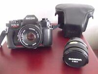 SLR camera + accessories