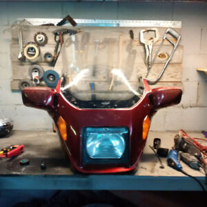 bmw K75 cases, fairings and parts