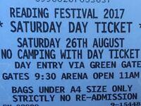 Saturday Reading Festival Ticket