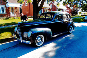 1939 Nash Ambassador Twin Ignition Eight