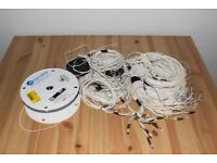 LED's, Cables and cable spool