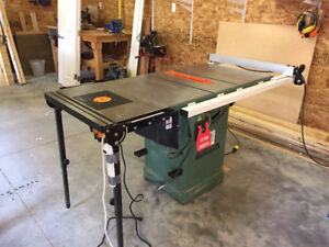 """General International 10"""", 2 HP Table saw with router table ext."""