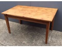 Pine Wooden Dining Table