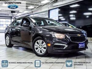 2015 Chevrolet Cruze 1LT, Blue tooth, ON Star, Car Proof Verifie
