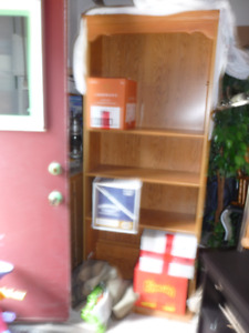 TILLSONBURG PRE MOVING SALE - wood book cases