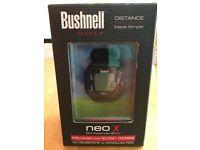 Bushnell Neo X Golf Range Finder Watch