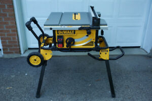Table Saw Dewalt DWE7491RS with Rolling stand