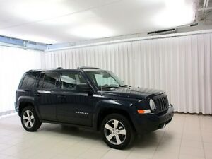 2016 Jeep Patriot HIGH ALTITUDE 4X4 SUV w/ HEATED LEATHER SEATS,