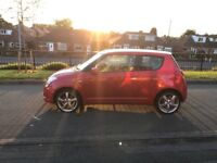QUICK SALE!! Suzuki Swift 1.3 GL Red 3Dr Low Mileage