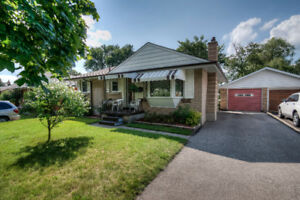 3 bedroom all brick backing onto a park