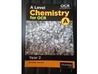 Chemistry year 2 ocr new spec textbook