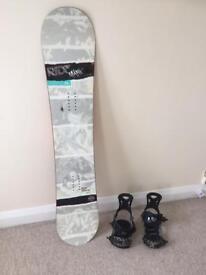 Ride manic series 2011 snowboard and bindings. good condition £200 o.n.o