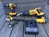 Dewalt 18 v cordless tools