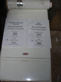 Central heating boiler for sale.