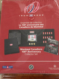 Montreal Canadians 100th Anniversary Collector set ( unopened)