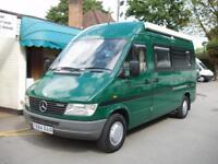 Eurocruiser Gwent 2 Berth Camper / Motorhome Hi-Top Merc 2.8 Diesel Automatic