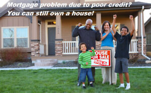 Bad Credit?  You can still own a home through a joint venture!