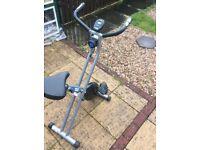 Get fit! Fitness bike