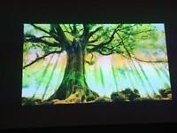 Brilliant home cinema 3D hdmi projector and massive screen