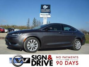 2015 Chrysler 200 C *Navigation/Panoramic/Htd Leather*
