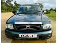 Mazda B2500 4x4 Double cab pickup with 10 months mot, air con, new cam belt, clean interior/bodywork