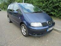 2007 SEAT ALHAMBRA 2.0TDI REFERENCE MANUAL DIESEL 5 DOOR MPV