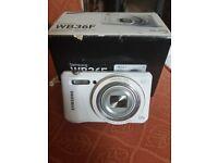 White samsung camera